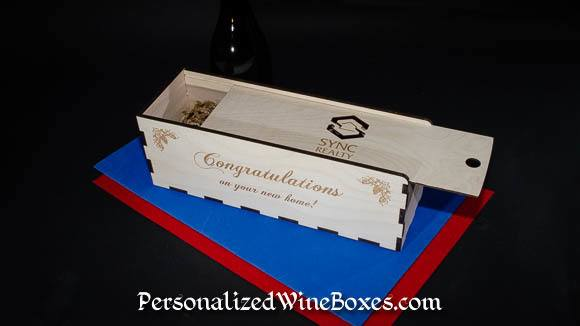 Realtor Closing Gift Idea – Custom Wine